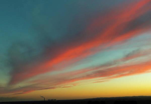 Photograph - Streaming Sunset by John Dakin