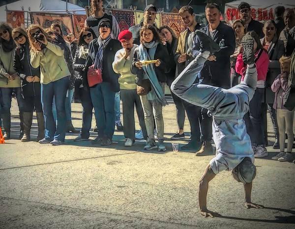 Photograph - Street Acrobat by Jack Wilson