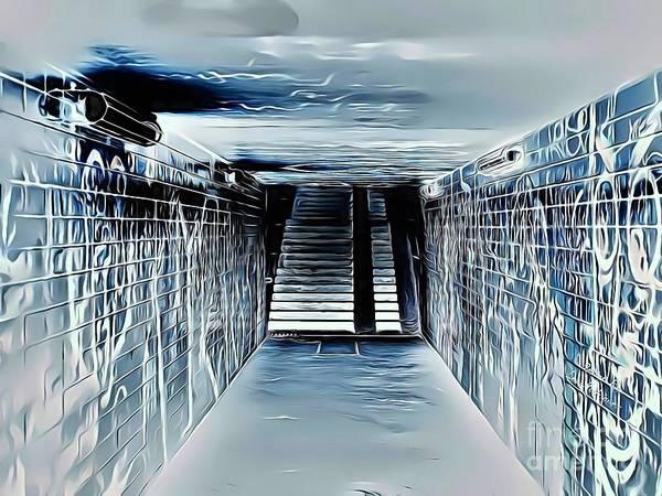 Wall Art - Digital Art - Street Art 11 Electric Version by Leo Rodriguez