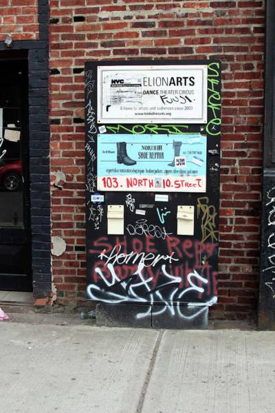 Photograph - Banksy Inspired Streeet Art  by Doc Braham
