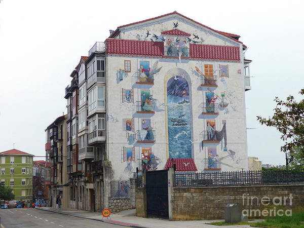 Photograph - Street Art - Santander by Phil Banks