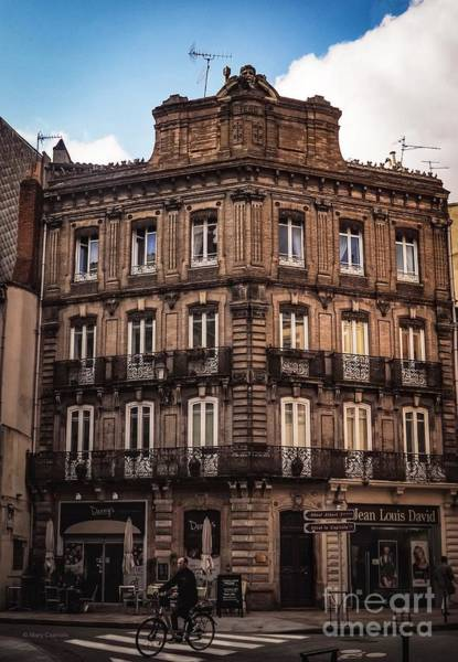 Photograph - Street Corner In Toulouse by Mary Capriole