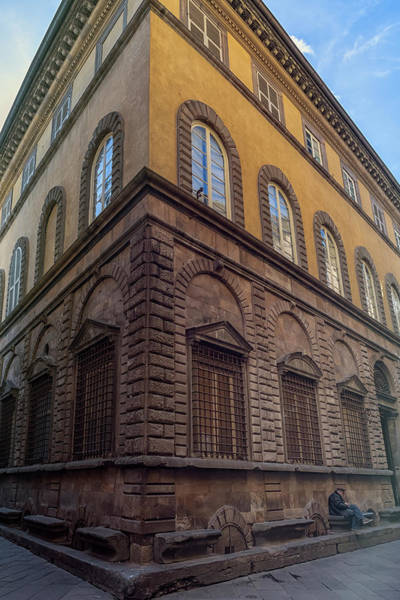 Photograph - Street Corner Lucca Italy by Joan Carroll
