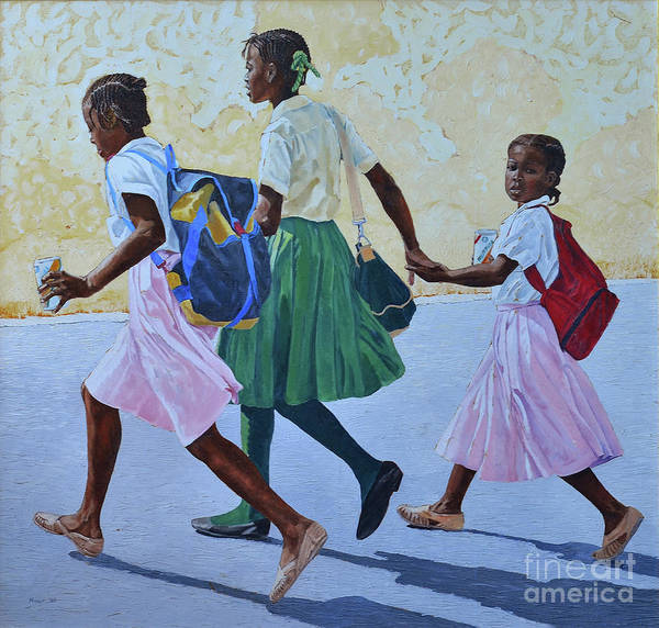 Painting - Street Crossing by Nicole Minnis