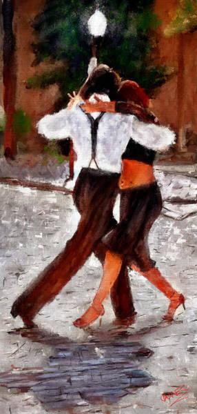 Sultry Digital Art - Street Dance by James Shepherd