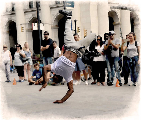 Digital Art - Street Dance. New York City. by Alex Mir