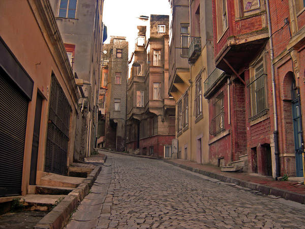 Wall Art - Photograph - Street In Istanbul by Photo Taken By Andreas Nellas