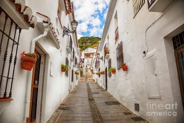 Photograph - street in Mijas, Spain by Ariadna De Raadt