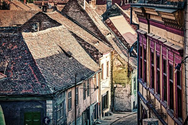 Photograph - Street In Sibiu Romania by Stuart Litoff