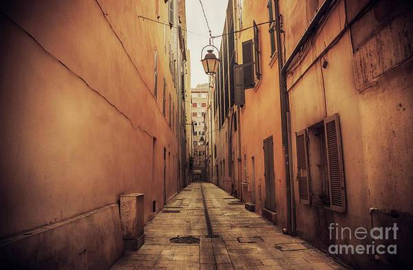 Photograph - Street In Toulon, Cote Dazur by Ariadna De Raadt