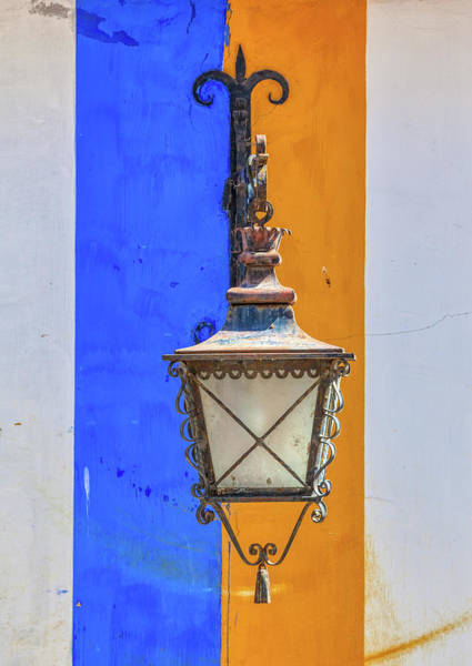 Photograph - Street Lamp Of Obidos by David Letts