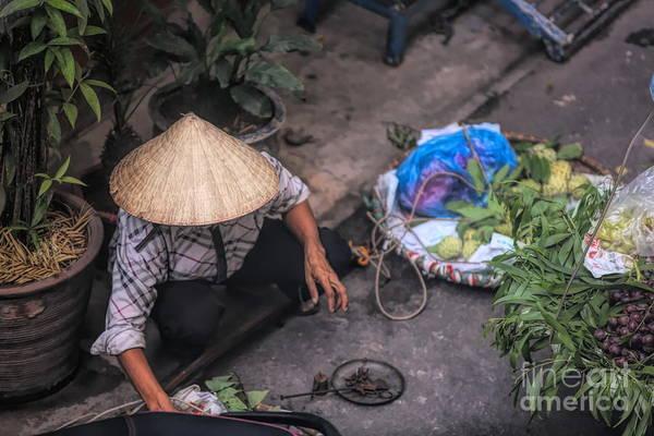 Wall Art - Photograph - Street Life Hanoi by Chuck Kuhn