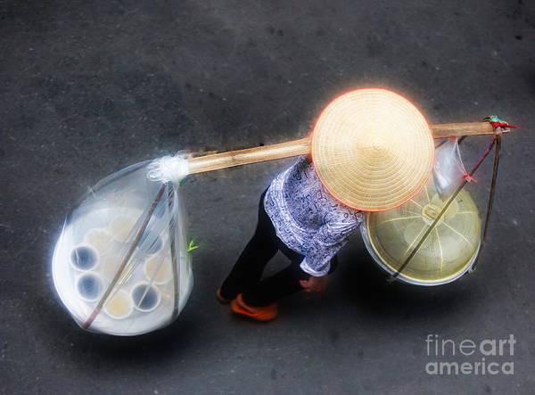 Wall Art - Photograph - Street Life Vietnam  by Chuck Kuhn