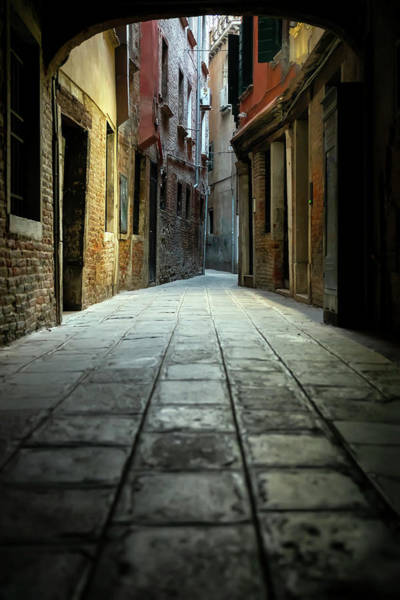 Wall Art - Photograph - Street Of Venice by Svetlana Sewell