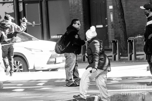 Wall Art - Photograph - Street Scene - Chicago by David Bearden