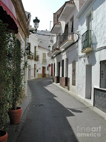 Wall Art - Photograph - Street Scene, Nerja by John Edwards