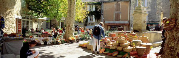 Wall Art - Photograph - Street Scene Provence France by Panoramic Images