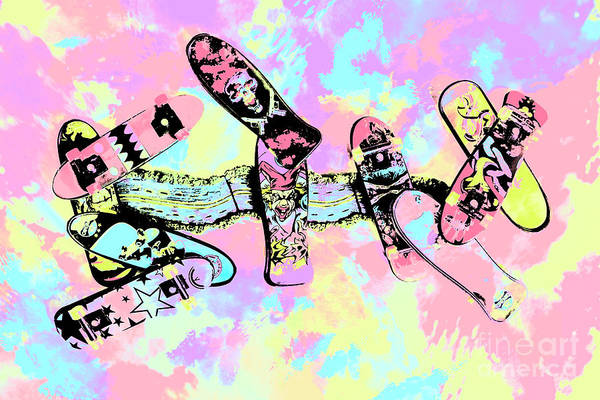 Wall Art - Photograph - Street Sk8 Pop Art by Jorgo Photography - Wall Art Gallery