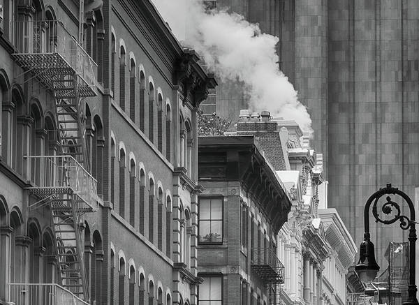 Photograph - Street Steam by Cate Franklyn