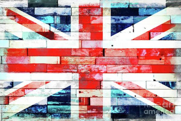 Wall Art - Digital Art - Street Union Jack by Delphimages Photo Creations