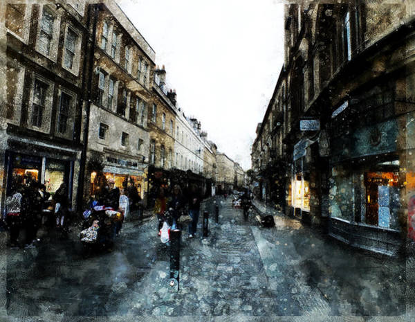 Digital Art - Street View by Art Di