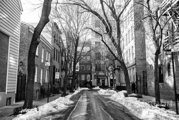 Photograph - Street With No Name In Greenwich Village by John Rizzuto