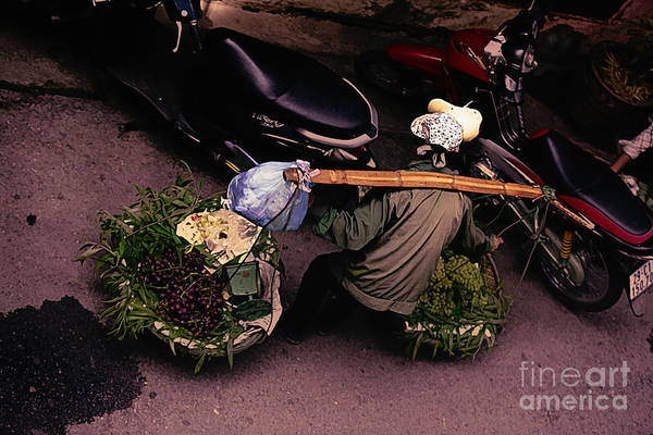 Wall Art - Digital Art - Streets Of Hanoi Digital Art  by Chuck Kuhn