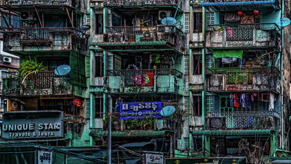 Photograph - Streets Of Rangoon by Chris Lord
