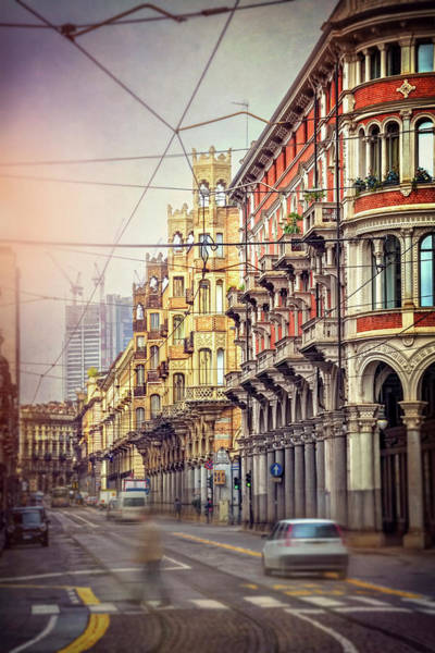 Northern Italy Photograph - Streets Of Turin Italy  by Carol Japp