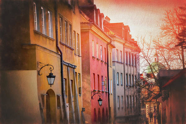 Wall Art - Photograph - Streets Of Warsaw Poland by Carol Japp