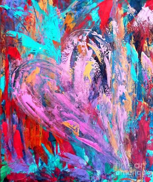 Mixed Media - Strength Of My Heart by Jessica Eli