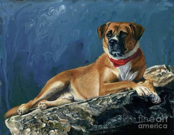 Painting - Strider by Rosellen Westerhoff