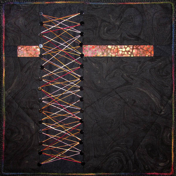 Tapestry - Textile - String Theory by Pam Geisel