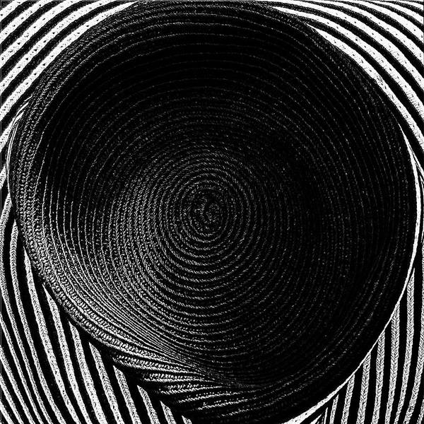 Striped Hat Art Print