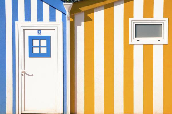 Horizontal Stripes Photograph - Striped Houses by Francisco Rama / Eyeem