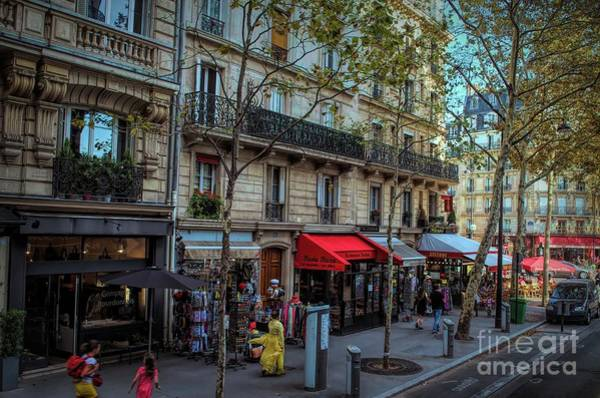 Photograph - Strolling In Paris by Luther Fine Art