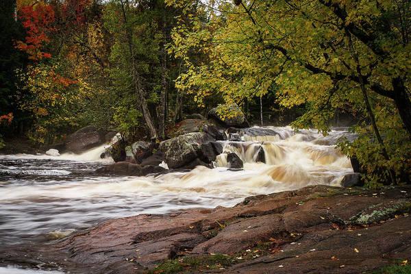 Photograph - Strong Falls #3 by David Heilman