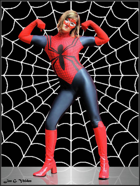 Photograph - Strong Web by Jon Volden