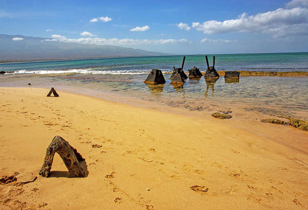 Photograph - Structures On Sugar Beach by Anthony Jones