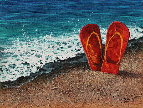 Painting - Stuck In The Sand by Darice Machel McGuire