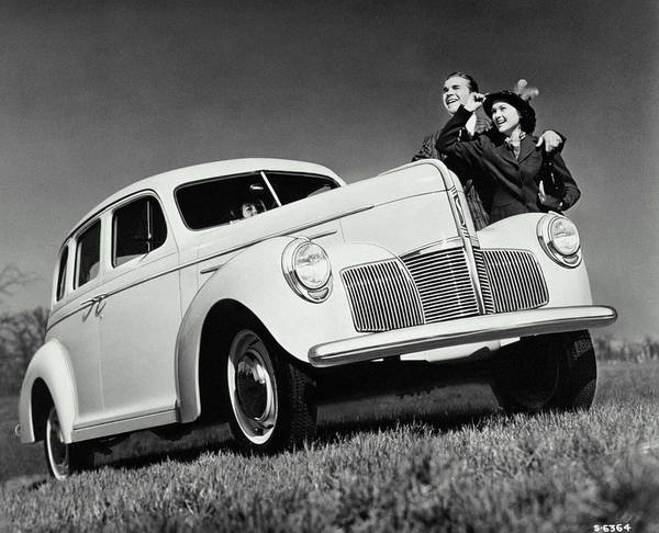 Boyfriend Photograph - Studebaker, 1940 by Archive Holdings Inc.