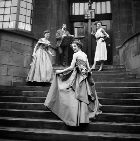 Evening Wear Photograph - Student Parade by Haywood Magee
