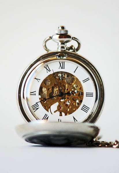 Photograph - Studio. Pocketwatch. by Lachlan Main