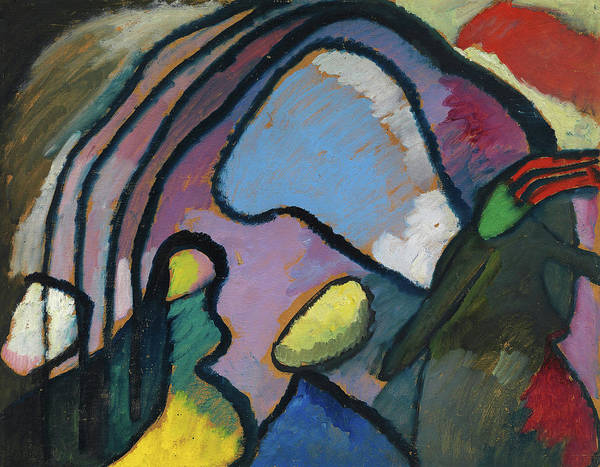 Evolution Painting - Study For Improvisation 10, 1910 by Wassily Kandinsky