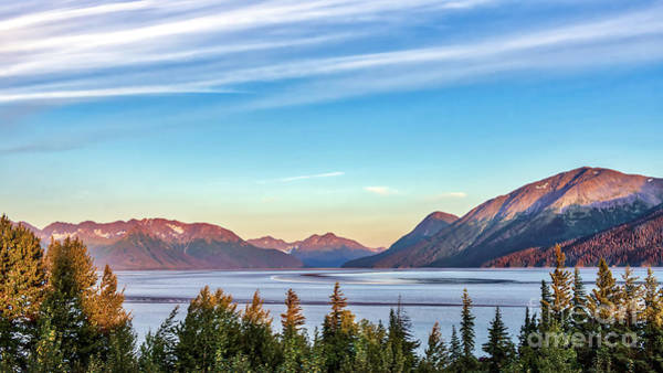 Photograph - Stunning Alaskan Mountain Lake by Patrick Wolf