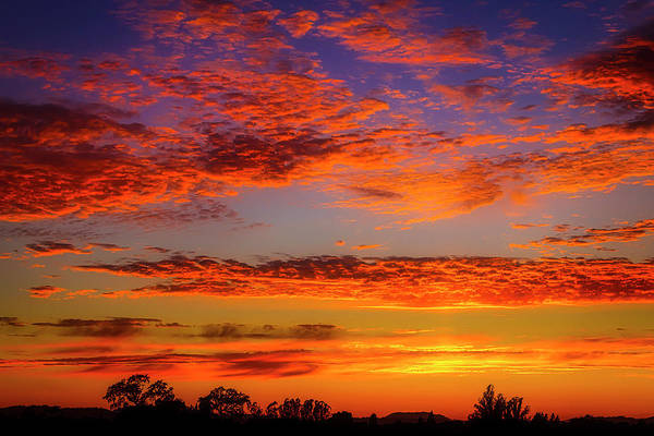 Wall Art - Photograph - Stunning California Sunset by Garry Gay