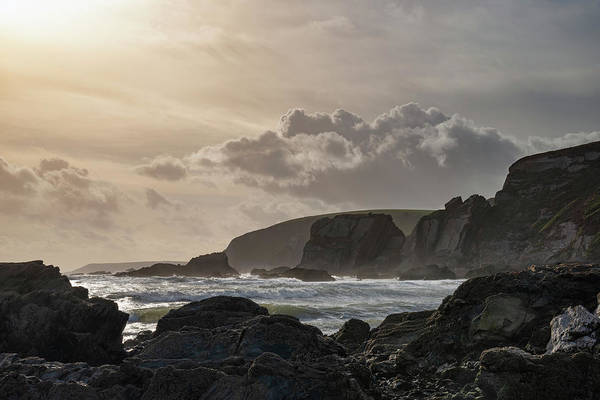 Wall Art - Photograph - Stunning Late Evening Spring Landscape Image Of Ayrmer Cove On D by Matthew Gibson