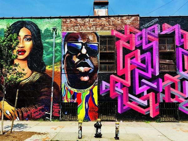 Arte Photograph - Stunning New York City Walls by Funkpix Photo Hunter