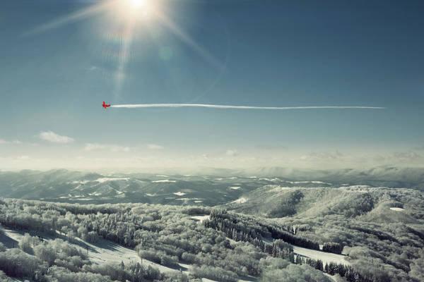 Aerobatics Wall Art - Photograph - Stunt Plane by David Aaron Troy