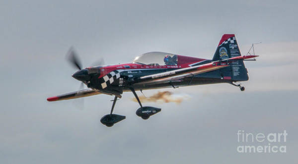 Photograph - Stunt Plane Pilot by Tom Claud